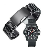 Metal Replacement Watch Band Fits Luminox Navy SEAL Trident 3500 3501 3503 #016