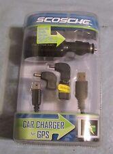BRAND NEW!!  Scosche USB Car Charger for GPS Model 3909 Garmin,TomTom,Sony