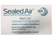 100 X A/000 MAIL LITE SEALED AIR PADDED ENVELOPES - WHITE (110 x 155mm)