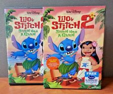 Authentic Disney: Lilo  Stitch 2: Stitch Has A Glitch  DVD W/Slipcover  LIKE NEW