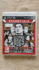 SLEEPING DOGS PS3 / complet / blu-ray sans rayure / envoi gratuit