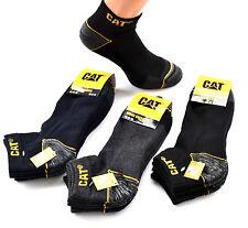 15 CAT® Caterpillar SNEAKER Socken 43-46 Arbeitssocken FARBMIX schwarz blau grau