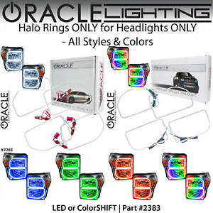 ORACLE Halo Rings Kit for Headlights for 11-16 Ford F250 F350 F450 *All Colors