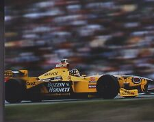 DAMON HILL BUZZIN HORNETS 1998 JORDAN 198 B&H FORMULA ONE  FI 8 X 10 PHOTO 1A