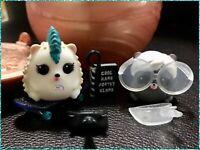 LOL PETS Punk Boi Pet Squeak Nik Punk Hog Beatnik Babe Doll H.O.G. Squeak-Nik
