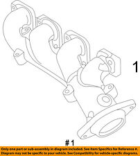 Jeep CHRYSLER OEM 12-14 Grand Cherokee 6.4L-V8-Exhaust Manifold 5038536AC