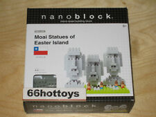 NanoBlock Micro-Sized Building Block Moai Statues of Easter Island NBH 009 NEW
