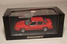 RR 1:43 MINICHAMPS VOLVO S70 S 70 1998 INDIANA RED MINT BOXED