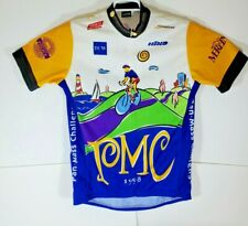 Vintage Hind Mens Bike Jersey Size L Cycling Shirt 1/2 Zip 1998 PMC