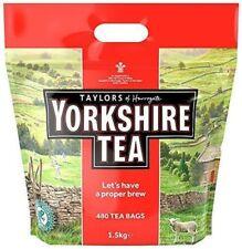 """YORKSHIRE TEA"" 480 Tea Bags( Taylors of Harrogate) 1.5kg"