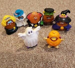 McDonald's Halloween Happy Meal Toys, Chicken McNugget Buddies, Birdie & Grimace