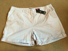 Bnwt m&s Sammlung hellblaue Chino Shorts Größe 22