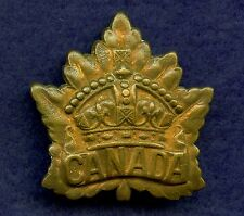 WW1 Canada General List CEF Badge 40 mm x 39 mm