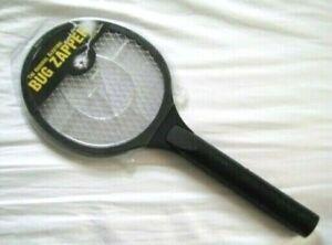 Vtg Genuine Original ELECTRIC HAND-HELD BUG ZAPPER Racquet RMBZ300P Black NIP