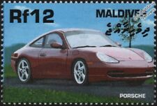 2001 PORSCHE 911 CARRERA Mint Automobile Sports Car Stamp (2000 Maldives)