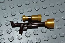 LEGO Monster Fighters Gun Tranquilizer Gold Scope Minifig Weapon Brown AEYE