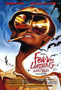 """FEAR AND LOATHING IN LAS VEGAS Movie Poster [Licensed-New] 27x40"""" Theater Size"""