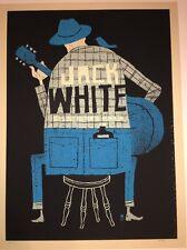 Jack White Poster Print Methane Atlanta Fox 2012 White Stripes