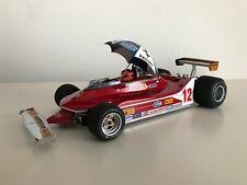 EXOTO 1:18 1979 Ferrari 312T4 Cod GPC97075 U.S. GP East Villeneuve Umbrella