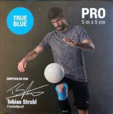 5 m Truetape Pro Kinesiotape ungeschnitten 5 cm breit true blue blau