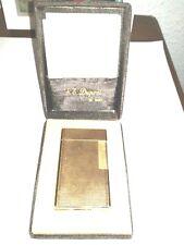 S.T. DUPONT PARIS Vintage Gold Plated Lighter Briquet Feuerzeug 84EFZ06 Mechero