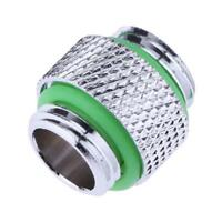 10mm Dual G1/4 External Thread Hose Tube Connector Fittings for PC Water Cooling