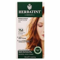 Herbatint Permanent Haircolor Gel 7M Mahogany Blonde 4.56 fl oz FREE Shipping
