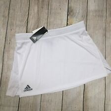 NWT Adidas Women's Lacrosse White Skirt Stock Kilt Sz. Medium NEW BR2363