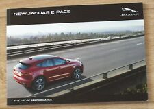 JAGUAR E-Pace 2018 brochure and pricelist (Dutch)