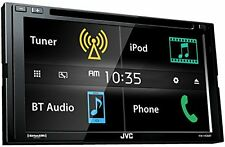 "JVC KWV430BT 6.8"" Double DIN Bluetooth In-Dash DVD/CD/AM/FM In-Dash Car Stereo"