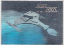 1992 STAR TREK KLINGON STARSHIP HOLOGRAM CHASE CARD 02H