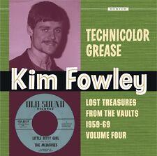 KIM FOWLEY Technicolor Grease Vol 4 LP Crenshaws Newmarks Rangers Memories NEW