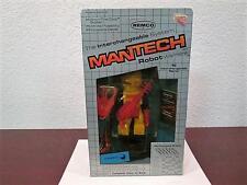 "1983 MANTECH ROBOT WARRIORS ""AQUA TECH"" FIGURE MINT SEALED UNPUNCHED REMCO"