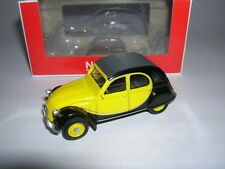 Norev Citröen 2CV Charleston Model 1982 Black Yellow Black Yellow, 1:64 3-Inch