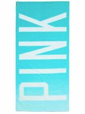 Victoria's Secret PINK Ombre Beach Towel (Blue & White) NEW In Packaging