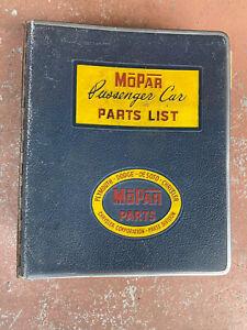 1953 1954 ORIGINAL MOPAR OEM PARTS CATALOG CHRYSLER DODGE PLYMOUTH DeSoto Book