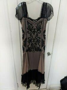 RARE Nataya Victorian/Great Gatsby Lux Lace Dress