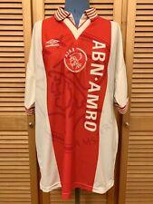 Ajax Amsterdam 1996-1997 home football shirt jersey maillot camiseta trikot