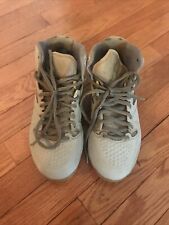 Preowned Men's Warrior Lacrosse Cleats Gray Size 8