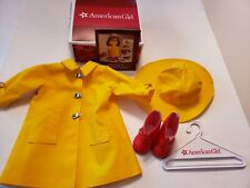 American Girl Molly's Rain Slicker, Hat and Boots 1990 Retired - No Doll