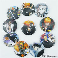 Anime Final Fantasy VII Badge 10PC Set Pins PVC Button Brooch Cosplay Fans Gift