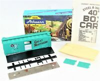 Athearn HO Scale Great Northern 1223 40 Ft. Box Car Kit Trains In Miniature New