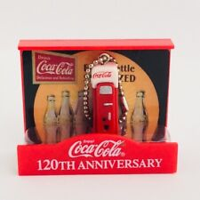 Coca Cola Memorial Figure Collection Vending Machine 120th Anniversary Japan