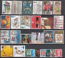 Lotto E47p Gran Bretagna Selezione Francobolli Usati used