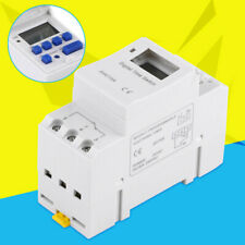 AC 220 25a Digital LCD Power Programmable DIN Timer Time Switch Relay AU Stock