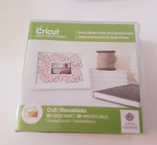 Cricut Anna GriffinCartridge Die Cutting Card Making garden cards embellishments