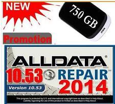 Auto Repair Software ALLDATA 10.53 ALL DATA Car Repair Software with 3.0USB 750G
