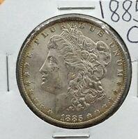 1885 O Morgan Silver Dollar Choice BU UNC Some Toning Nice Coin