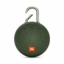 JBL Clip 3 Portable Bluetooth Waterproof Speaker - Forest Green