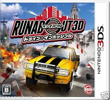 Runabout 3D Drive Impossible NINTENDO 3DS JAPANESE  JAPANZON